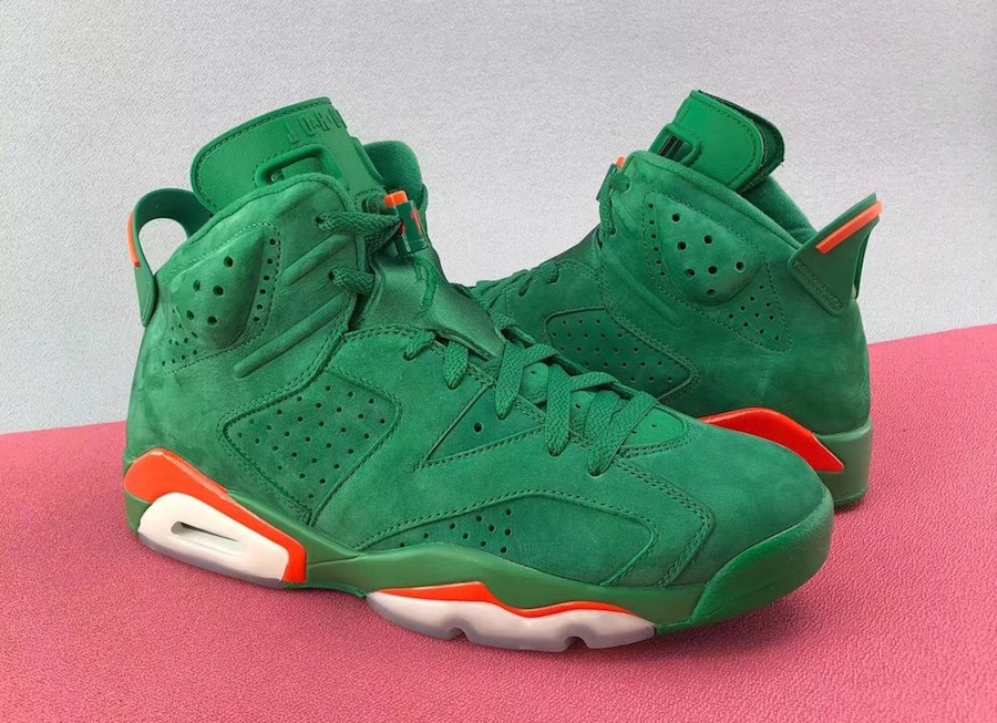 0209677b622afd The Air Jordan 6 Gatorade Green Suede Could Be Releasing Sometime ...