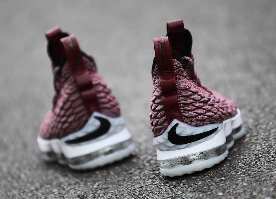 91d7546f7e8a6 More Images Of The Nike LeBron 15 Wine Surface!