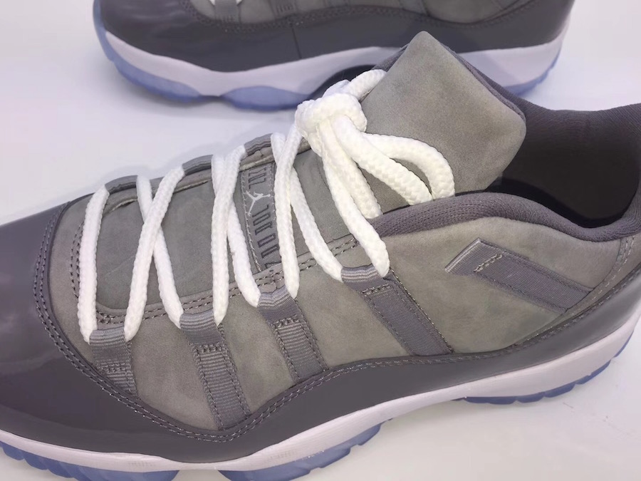promo code 931e1 f2b7a The 2018 Air Jordan 11 Low Cool Grey Will Be Releasing In ...