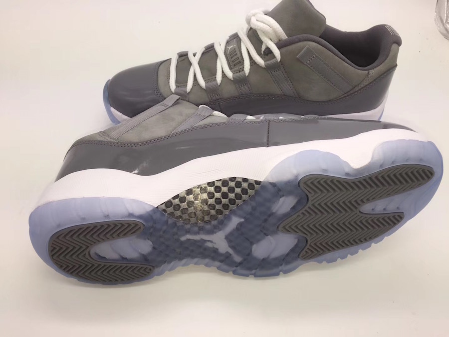 98c2bdf1d9d The 2018 Air Jordan 11 Low Cool Grey Will Be Releasing In May ...